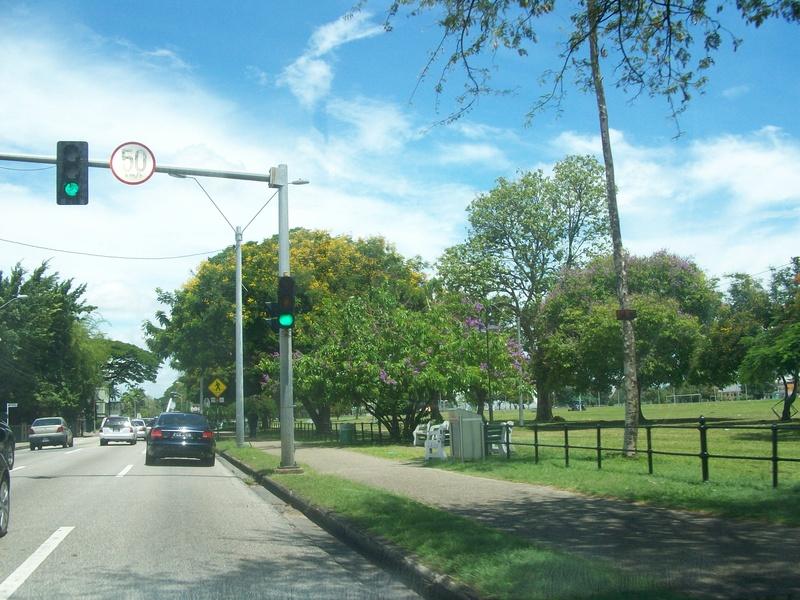 Around the Queens Park Savannah